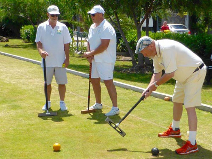 Golf Croquet Tournament 2016